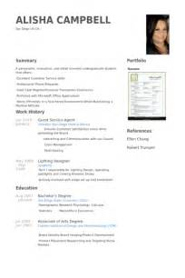 guest service agent resume samples visualcv resume
