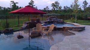 luxury outdoor design custom swimming pools