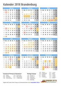 Kalender 2018 Nrw Zum Ausdrucken Kalender 2018 Brandenburg Zum Ausdrucken 171 Kalender 2018