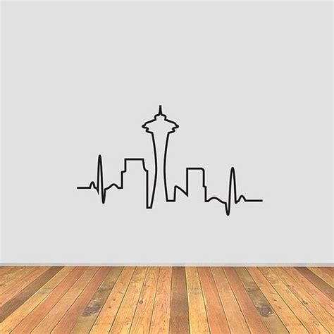 seattle skyline tattoo 25 best ideas about seattle on seattle