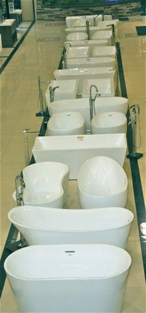 free standing tubs showrooms denver of a row of