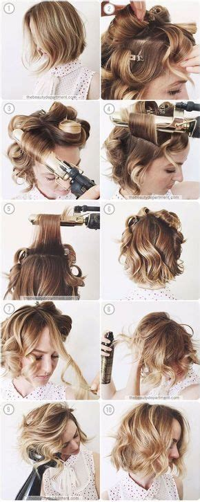 trendy hairstyles at home at home hairstyles for short hair