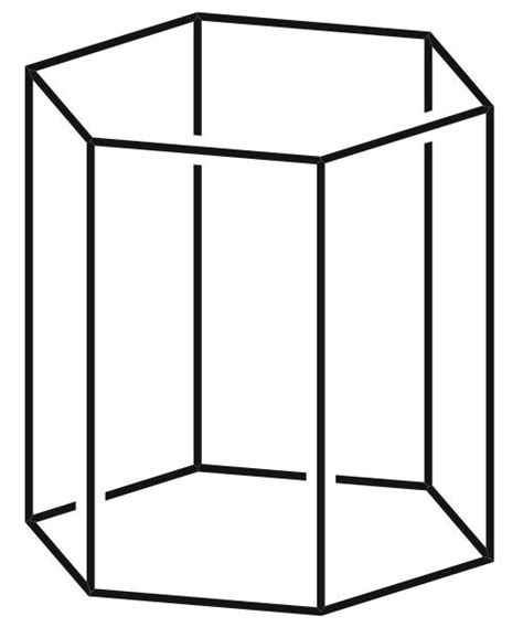prisma form hexagonal prism picture images of shapes