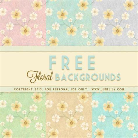 free vintage floral backgrounds inspired by vincent van