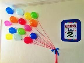 balloon wall decor favors ideas