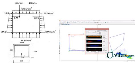 Culvert Design Spreadsheet by Reinforced Concrete Box Culvert Using Sap2000 Civil