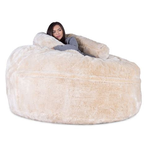 big white fluffy bean bag bean bag sofa uk conceptstructuresllc