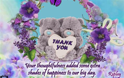 Wedding Anniversary Wishes Thank You by Thanks For Wishing Free Wedding Anniversary Ecards