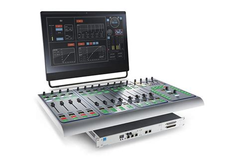Best Small Mixing Desk Lawo Sapphire Compact Mixing Desk Front Of House