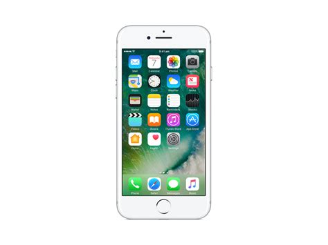 apple iphone 7 128gb silver mn932x a centre com