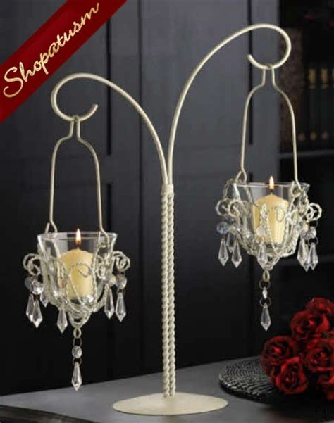 24 Wholesale Shabby Crystal Bead Chandelier Wedding Chandelier Centerpieces Wholesale