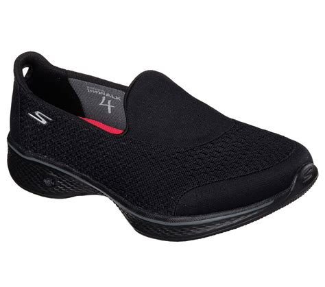 Skechers Gowalk 4 Pursuit S Lifestyle Shoes Black 1 buy skechers skechers gowalk 4 pursuit skechers