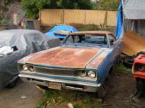 Craigslist San Fernando Valley Garage Sales by Mopar Graveyard Find Black Plate 69 Bee Bring A