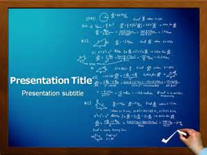 Powerpoint Templates Mathematics Free by Math Powerpoint Ppt Templates Powerpoint Template For