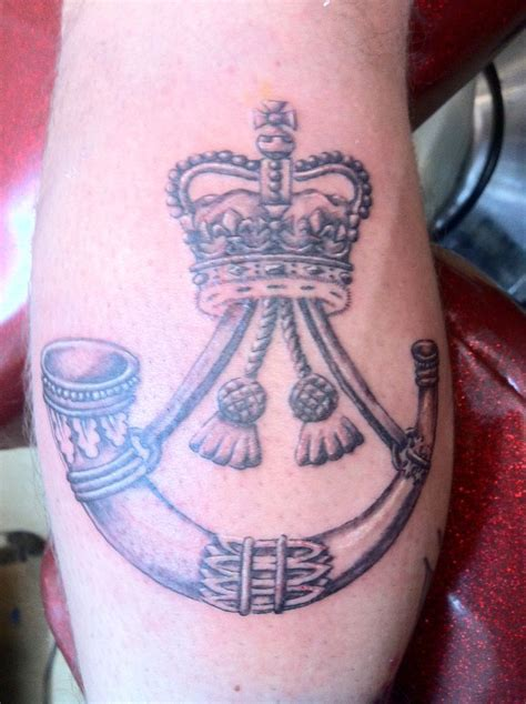 badge tattoo rifles cap badge for a brave soldier by pix tattoos