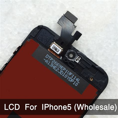 100 Kualitas Terjamin Iphone 5 5s 5c Lcd Touchscreen Original 1 10pcs lot for iphone 5 iphone 5c iphone 5s lcd display