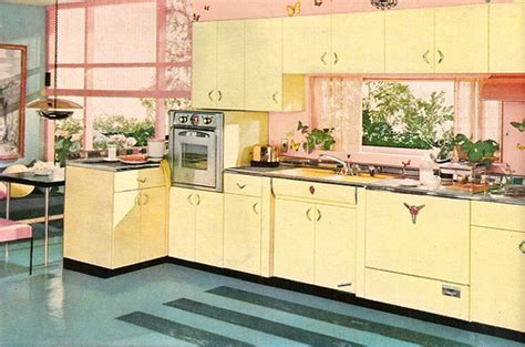 50s kitchen photo