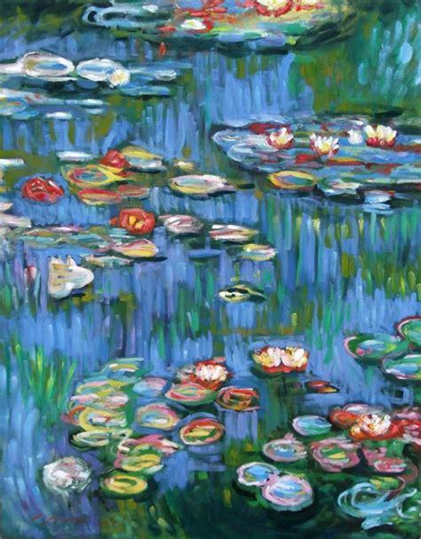 deco perete by arbex art decor picturi picturi celebre pictura pictura quot nuferi quot reproducere monet