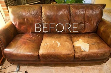 ripped leather couch hide your couch s wear and tear with these 9 ingenious