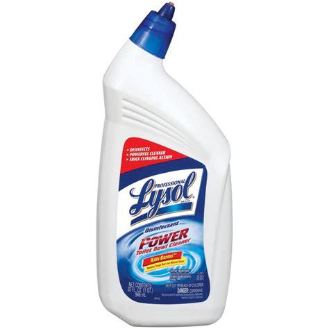 Shop lysol 32 fl oz clean toilet bowl cleaner at lowes com