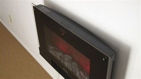 bionaire electric fireplace heater with