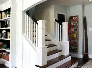 Staircase Makeover Ideas Remodelaholic Entry And Staircase Makeover Reveal