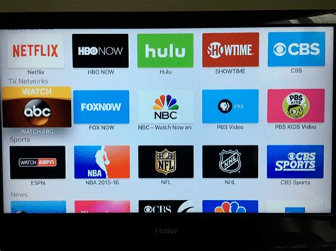 how to live tv on your new apple tv guiding tech