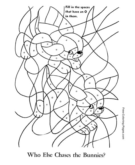 coloring puzzles printable picture puzzle for child 007