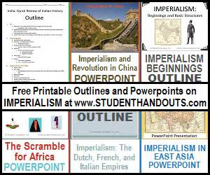 Scramble For Africa Outline Map by And Italian Empires And The Results Of Imperialism Powerpoint