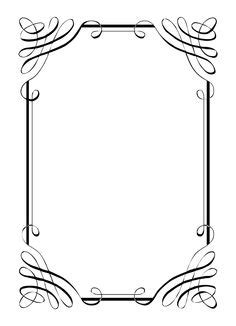 design html page showing forms and frames free borders invitations clipart