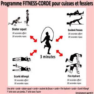 programme corde 224 sauter fitness pour cuisses et fessiers