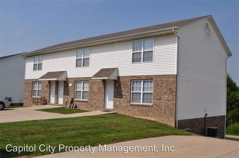one bedroom apartments in jefferson city mo 412 kensington park jefferson city mo 65109 rentals