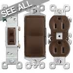 brown electrical sockets light switches toggle outlet dimmer switches for wall