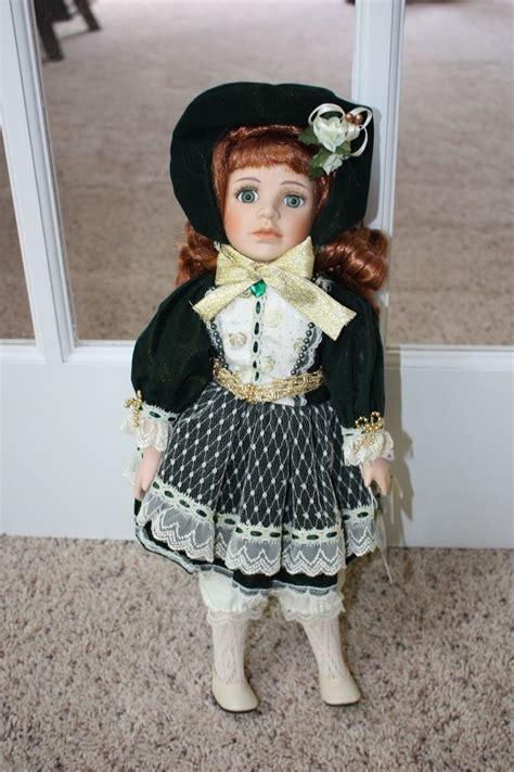 porcelain doll green dress geppeddo porcelain doll green dress and 50 similar items