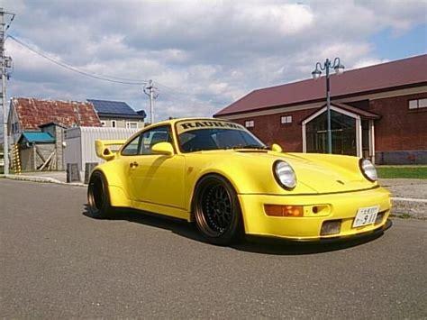 Yellow Rwb Porsche ポルシェ964 と ポルシェ