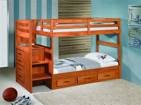 Cheap Staircase Kits by Save Big On Twin Over Twin Stairway Bunk Bed With Drawers