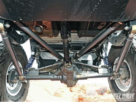 Jeep Tj Suspension Genright Four Link Rear Suspension Offroad 4x4