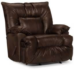 designed2b recliner 7726 genuine leather rocker chair