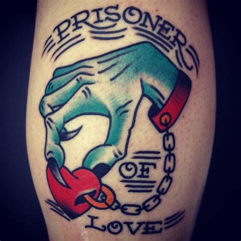 prisoner of love tattoo pin tattoos pictures on