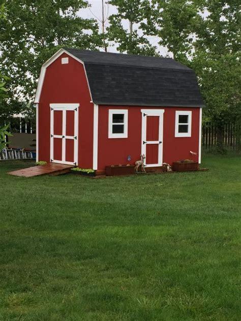 nice shed  built  paul