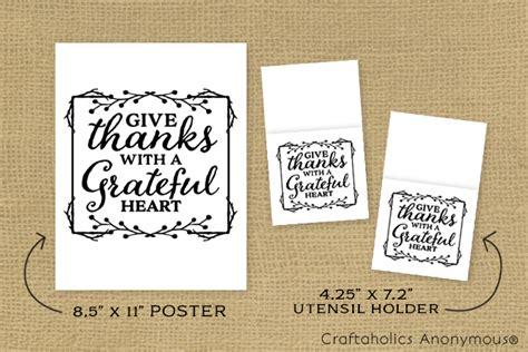 printable thanksgiving utensil holder craftaholics anonymous 174 thanksgiving free printable