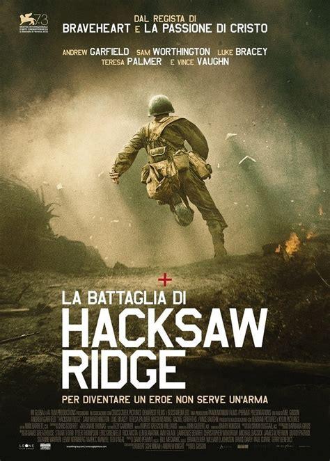 film it recensioni recensioni del film la battaglia di hacksaw ridge screenweek