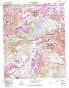 southern california topographic map san dimas topographic map ca usgs topo 34117a7