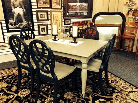 chalk painted dining room table   chairs  annie