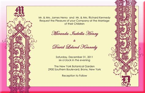 indian invitation card template felicia s modern indian wedding