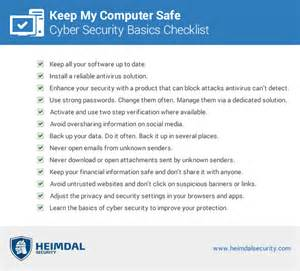 keep my computer safe from cyber threats that target home
