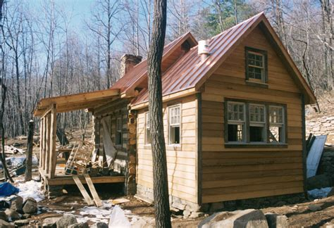 Handmade Log Cabin - part four of building a rustic cabin handmade houses