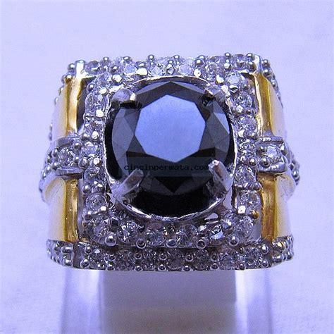 Cincin Batu Biduri Hitam batu permata berlian hitam cincinpermata jual batu