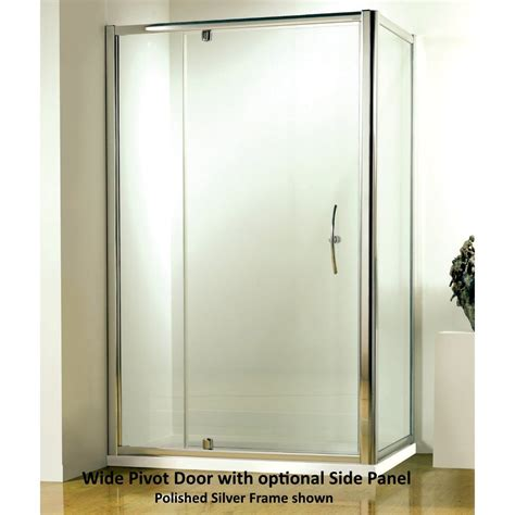 Wide Shower Doors by Kudos Original 3pw110s 1100mm Pivot Wide Shower Door