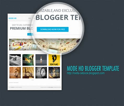 hd templates for blogger download mode hd responsive blogger template